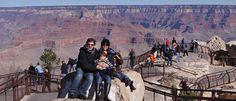 Grand Canyon com crianças