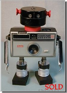 Instamatic 104, Found Object Robot ... by Sally Colby