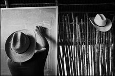 CAMPECHE, Mexico—Guatemalan refugees taking tailoring classes, July 3, 1986.  © John Vink / Magnum Photos