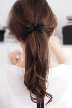 A beautiful low ponytail - Style Advisor