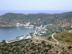 Vathi Beach Sifnos Island Greece