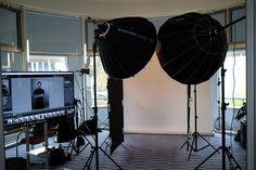 Making of in Karlsruhe Fotoshooting mit Broncolor Para 133 im Tagungshotel
