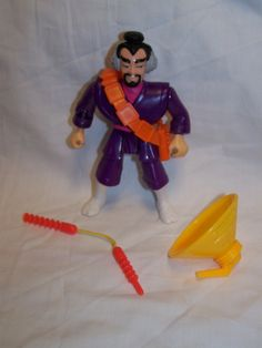 Vintage 1989 Kenner Flung Hi with Crazy Karate Gear Police Academy Action Figure