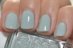 Duck egg blue Essie nail polish Nail Design, Nail Art, Nail Salon, Irvine, Newport Beach