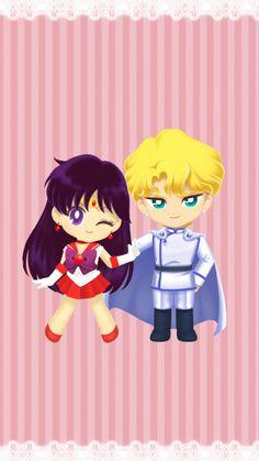 Sailor Moon - General Jadeite x Rei Hino - JadeRei Sailor Moon Drops, Sailor Moon Fan Art, Sailor Moon Character, Sailor Chibi Moon, Sailor Moon Crystal, Sailor Jupiter, Sailor Moom, Sailor Mercury, Sailor Saturno
