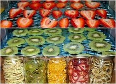 Prepare your home dried fruit in the oven