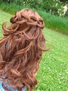 American Girl Place: Knotted Waterfall Braid ~ a hair tutorial