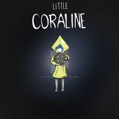 Little Coraline by Bat13SJx
