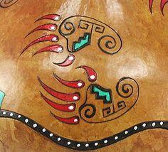 America Indian bear pattern | Searching Bear Jewelry box ceremonial medicine Native American Apache