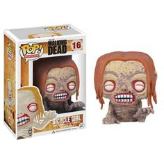 Funko Pop! Bicycle Girl, The Walking Dead, TWD, AMC, Séries