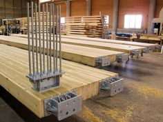 Download the catalogue and request prices of Resix® By simonin, connection system for timber structure
