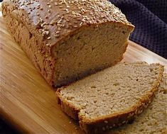 Make and share this Gluten Free Buckwheat Bread recipe from Genius Kitchen. Gluten Free Buckwheat Bread, Wheat Free Bread, Buckwheat Recipes, Vegan Bread, Patisserie Sans Gluten, Dessert Sans Gluten, Gluten Free Desserts, Gluten Free Recipes, Wheat Free Recipes