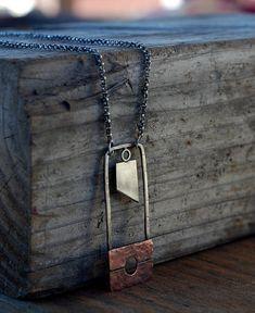 The Executioner. Guillotine Necklace. Reign of Terror. por Arrok, $128.00