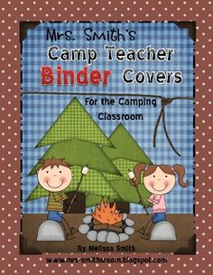 Camp Teacher Binder Covers