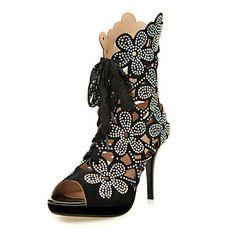 Magassarkú / Elől kivágott Lábujj - Stiletto - Női cipő - Szandál / Magassarkú…