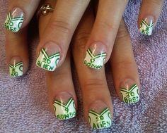 Boston Celtics Nails