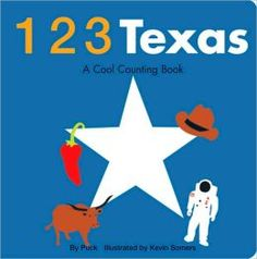 123 Texas: A Cool Counting Book