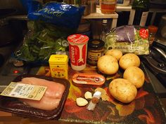 Jamie Oliver's mustard chicken, quick dauphinoise & greens Maris Piper Potatoes, Mustard Chicken, Sea Bass, Jamie Oliver, Pot Roast, Spinach, Ethnic Recipes, Easy, Carne Asada