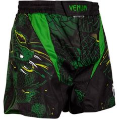 Fight short court Venum Green Viper S Taekwondo, Judo, Short Mma, Boxe Fight, Rave Pants, Fight Wear, Mma Shorts, Fight Shorts, Bermudas