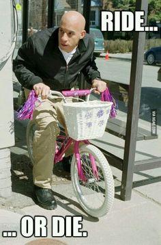 Ik heb een nieuwe fiets