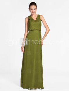 0ba292477995 VALEA - kjole til brudepige i chiffon - DKK kr. 727 Brudekjoler