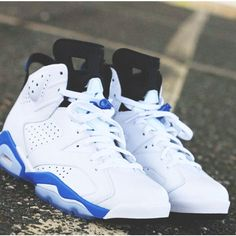 "Air Jordan 6 ""Sport Blue"" 2014 Retro Release 
