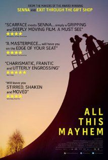 All This Mayhem Poster; Film about skating Cult Movies, Movies To Watch, Films, Movie Gifs, Movie Tv, Self Destruction, Sports Images, Student Motivation, Quotes For Students