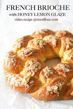Authentic French brioche recipe from Le Cordon Bleu Paris. The bread is super tender, moist and soft with buttery and melt-in-the-mouth taste.