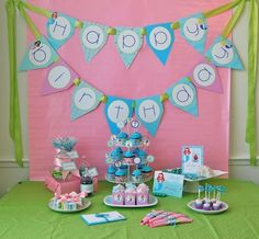 Little Mermaids Birthday Printable Party Pack - DIY - SALE!! by FrogPrincePaperie on Etsy https://www.etsy.com/listing/59684972/little-mermaids-birthday-printable-party