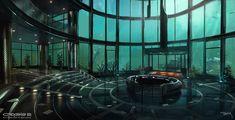 Crysis 2 Concept Art by Viktor Jonsson