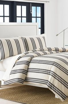 Nautica Hayes Duvet Cover & Sham Set available at #Nordstrom