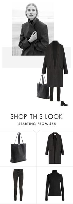 """/"" by darkwood ❤ liked on Polyvore featuring Prada, COS, Raey and Alexander Wang"