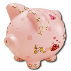 Find a great selection of kids personalized piggy banks at For That Occasion! We offer options in the classic piggy bank shape as well as more novelty styles. Money Bank, Money In The Bank, Personalized Piggy Bank, Paint Your Own Pottery, Cute Piggies, Savings Bank, This Little Piggy, Pottery Painting, Sugar And Spice