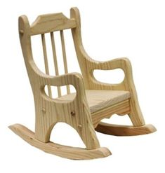 Doll Rocking Chair Parts Kit #WoodworkingChair