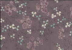 "Silk Kimono ""Floers in clover""    http://www.kesarankimonofabric.com/"
