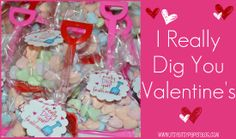 A majorly cute Valentine project complete with free printable tags!!