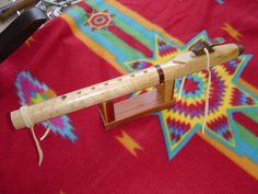 native american flute made from birds eye maple and walnut key of G