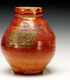 Warren MacKenzie (American, b.1924) Warren Mackenzie, Simple Way, Pots, Jar, Pottery, American, Ceramica, Pottery Marks, Glass