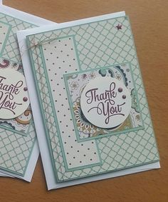 Stampin' Up! Demonstrator stampwithpeg –November customer thank you cards : Petals & Paisleys with One Big Meaning. I love making my customer thank you cards and gifts, I am so happy when peop…