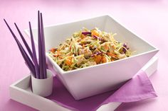 Easy, delicious and healthy Hungry Girl-Scoopable Chinese Chicken Salad recipe from SparkRecipes. See our top-rated recipes for Hungry Girl-Scoopable Chinese Chicken Salad. Chicken Salad Recipes, Healthy Salad Recipes, Chicken Salads, Healthy Chicken, Chicken Meals, Protein Recipes, Recipe Chicken, Ww Recipes, Cooking Recipes