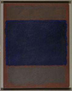 rothko | Mark Rothko, Untitled (Umber, Blue, Umber, Brown), 1962