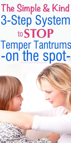 "These surprisingly simple ideas will help you regain control of a situation, while allowing your kids to feel validated and heard. Stop temper tantrums from escalating with this positive parenting approach where ""less is more."""