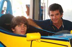 Chico e Daniel: rivais na primeira etapa da Stock Car. Mas na verdade um é fã do outro e vice-versa.