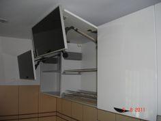 Mobila bucatarie cu scurgator vase Kitchen Cabinets, Storage, Furniture, Home Decor, Purse Storage, Decoration Home, Room Decor, Cabinets, Larger