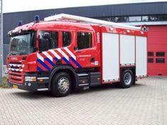 Wat doet de brandweer wanneer er brand uitbreekt?