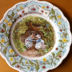 """Brambly Hedge """"The Engagement"""" Royal Doulton"""