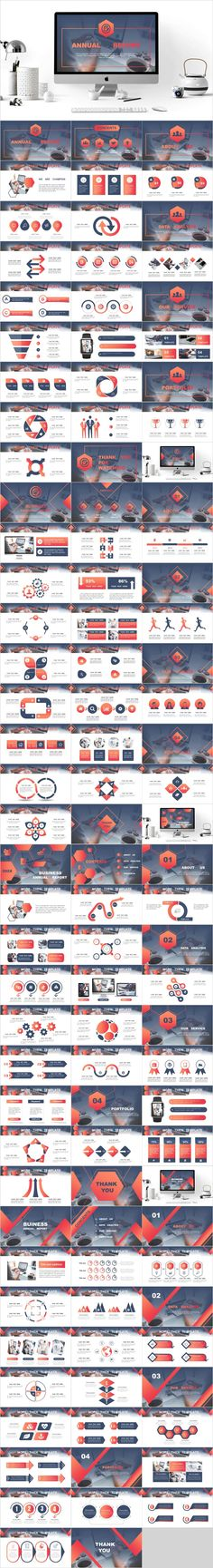 4 in 1 red annual PowerPoint – The highest quality PowerPoint Templates and Keynote Templates download Great Powerpoint Presentations, Powerpoint Lesson, Professional Powerpoint Templates, Creative Powerpoint Templates, Presentation Software, Business Presentation, Powerpoint Presentation Templates, Presentation Design, Ppt Design