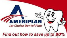 DENTAL PLAN $19.95/month entire household Includes Dental, Vision, Prescription, and Chiropractic Benefits, Lasik, Cosmetic dentistry, sedation dentistry, orthodontics (braces), teeth whitening, and more. HEALTH PLAN $49.95/month entire household Physician, ancillary services, hospital advocacy, cosmetic surgery, AmeriDoc, Dental, Vision, Prescription, and Chiropractic, Dental Plans..https://stacjo.savewithdiscounthealthcare.com/ https://stacjo.ameriplanopportunity.com/