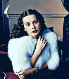 Hedy Lamarr. Such an intelligent, talented and beautiful woman.