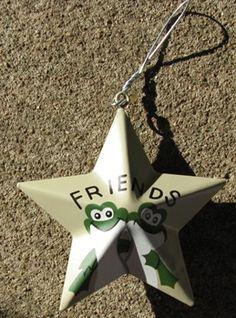 "or220-Friends Frog   3 1/2"" Star    Metal Star   $ 1.75"